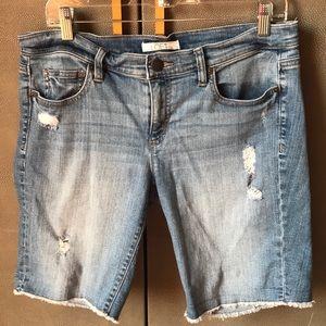 LOFT size 10 Jean Shorts